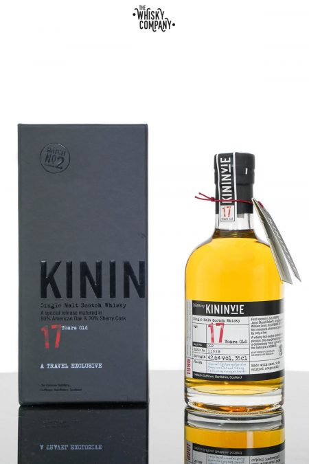 Kininvie 17 Years Old Single Malt Scotch Whisky - Batch 2 (350ml)