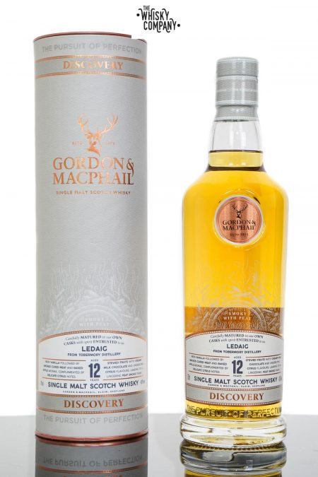 Ledaig Aged 12 Years Discovery Single Malt Scotch Whisky - Gordon & MacPhail (700ml)