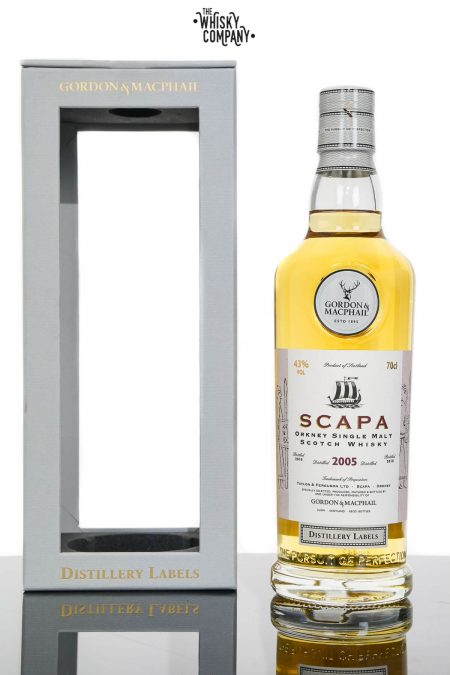 Scapa 2005 Orkney Single Malt Scotch Whisky - Gordon & MacPhail 2018 (700ml)