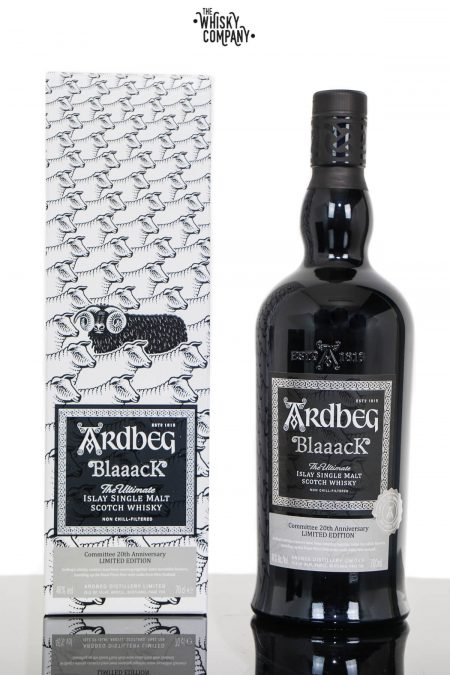 Ardbeg Blaaack Islay Single Malt Scotch Whisky - 20th Anniversary Committee Limited Edition (700ml)