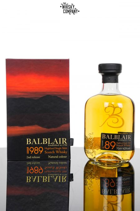 Balblair 1989 Vintage Highland Single Malt Scotch Whisky (700ml)