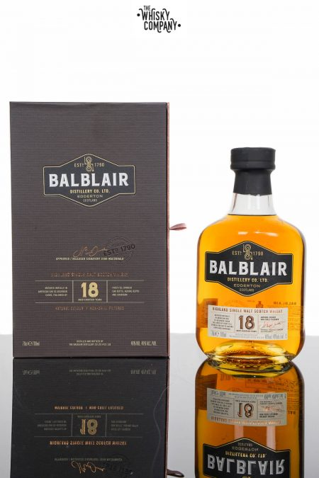 Balblair 18 Years Old Single Malt Scotch Whisky (700ml)