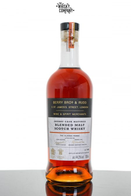 Berry Bros. & Rudd Sherry Cask Blended Malt Scotch Whisky - The Classic Range (700ml)