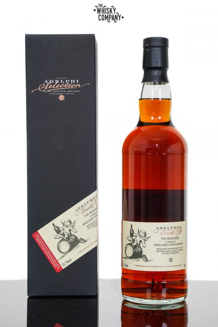 Breath of The Highlands 2007 Aged 12 Years Single Malt Scotch Whisky - Adelphi (700ml)