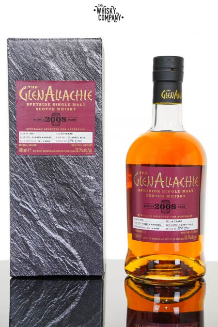 GlenAllachie 2008 Single Cask Australian Release Single Malt Scotch Whisky (700ml)