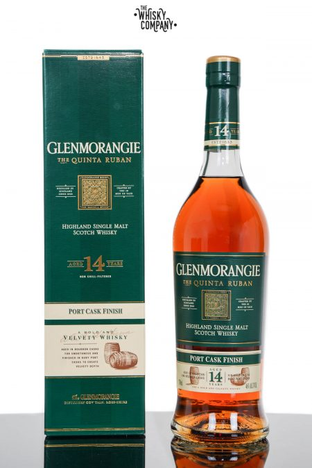 Glenmorangie Quinta Ruban Aged 14 Years Highland Single Malt Scotch Whisky (700ml)