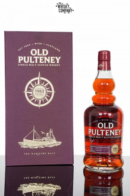 Old Pulteney 1983 Vintage Single Malt Scotch Whisky (700ml)