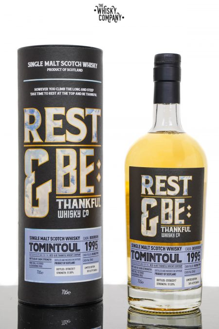 Tomintoul 1995 Aged 22 Years Old Single Malt Scotch Whisky - Rest and be Thankful (700ml)