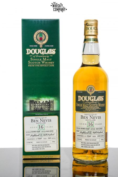 Ben Nevis 1998 Aged 16 Years Single Malt Scotch Whisky - Cask 11390 (700ml)