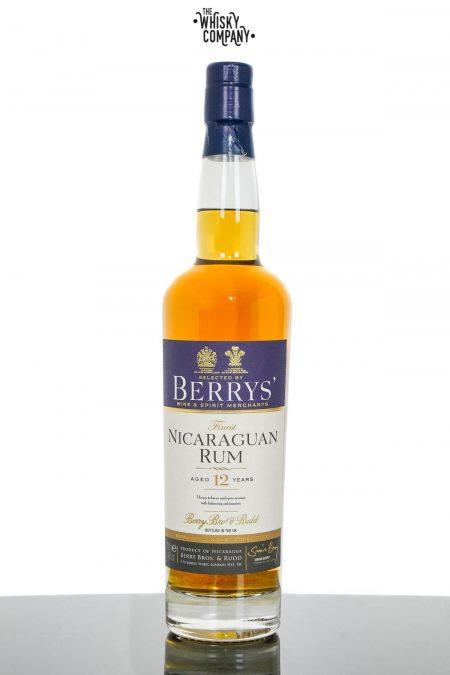 Nicaraguan Rum Aged 12 Years - Berry Bros' & Rudd (700ml)