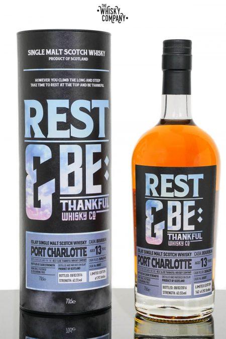 Port Charlotte 2002 Aged 13 Years Single Malt Scotch Whisky - Rest & Be Thankful (700ml)