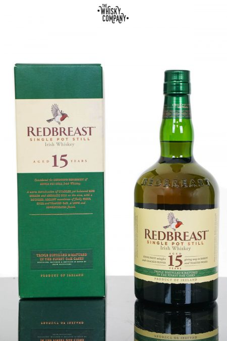 Redbreast Aged 15 Years Irish Single Pot Still Whiskey (700ml)