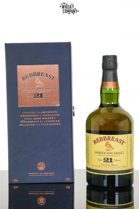 Redbreast Aged 21 Years Irish Single Pot Still Whiskey (700ml)