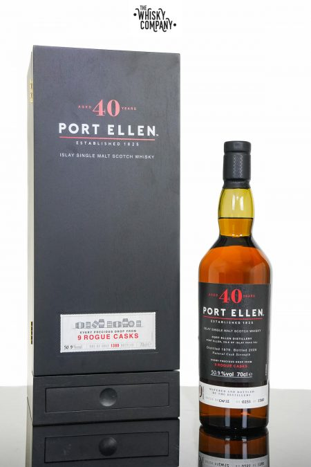 1979 Port Ellen 40 Years Old 9 Rogue Casks Islay Single Malt Scotch Whisky (700ml)