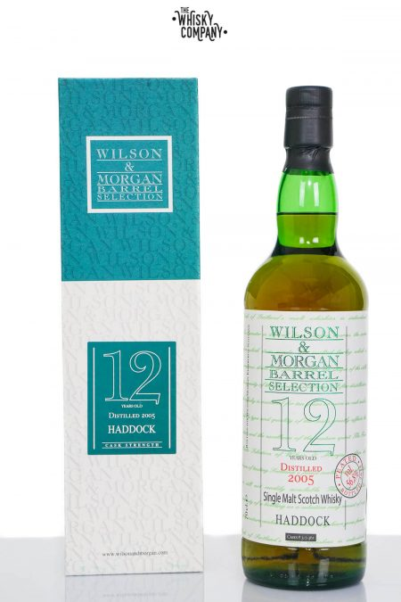 Haddock 2005 (Loch Lomond) 12 Years Old Single Malt Scotch Whisky - Wilson & Morgan (700ml)