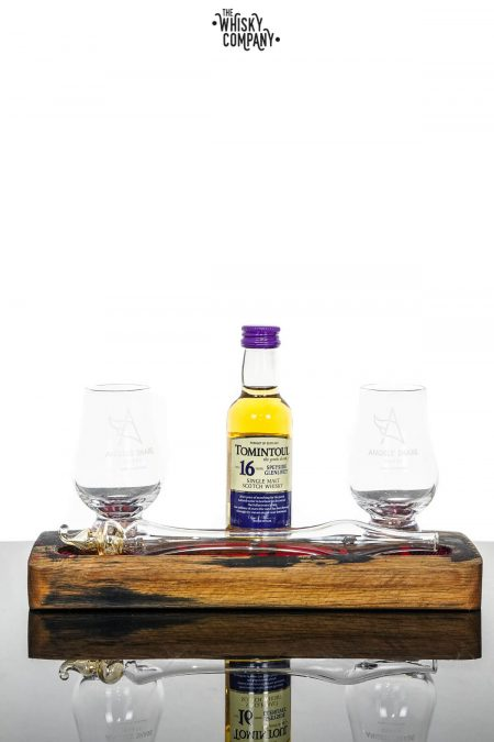 Angels' Share Glasssware Whisky Friendship Set With Tomintoul 16 Years Old Miniature (50ml)