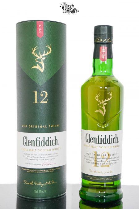 Glenfiddich Aged 12 Years Speyside Single Malt Scotch Whisky (700ml)