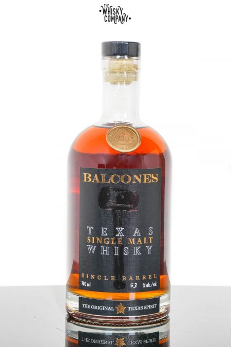 Balcones Single Barrel American Oak Cask Texas Single Malt Whisky - Barrel 18022 (700ml)