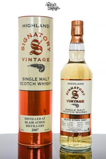 Blair Athol 2007 Aged 12 Years Highland Single Malt Scotch Whisky - Signatory Vintage (700ml)