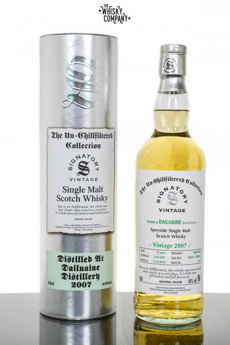 Dailuaine 2007 Aged 12 Years Speyside Single Malt Scotch Whisky - Signatory Vintage (700ml)