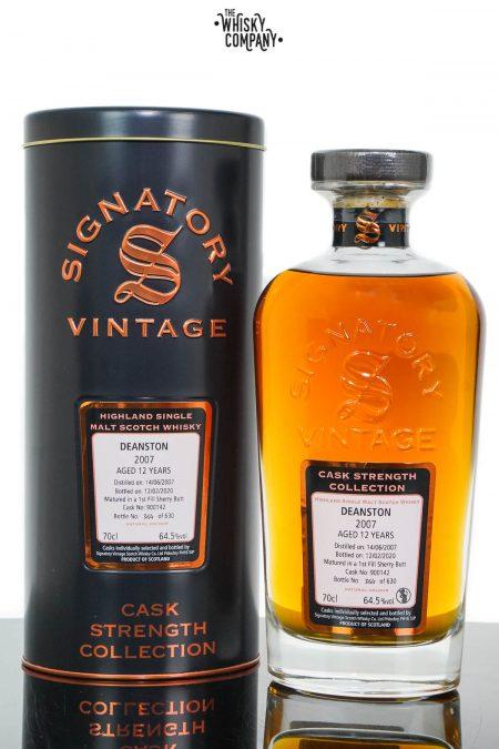 Deanston 2007 Aged 12 Years Cask Strength Single Malt Scotch Whisky - Signatory Vintage (700ml)
