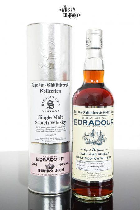Edradour 2010 UCF Aged 10 Years Single Malt Scotch Whisky - Signatory Vintage (700ml)