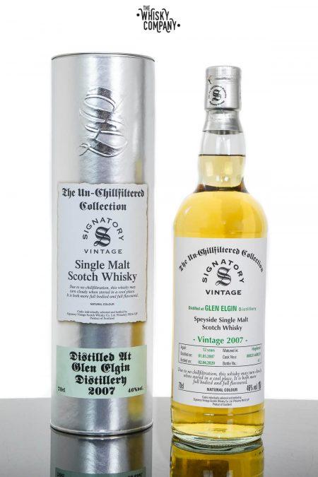 Glen Elgin 2007 Aged 12 Years Speyside Single Malt Scotch Whisky - Signatory Vintage (700ml)