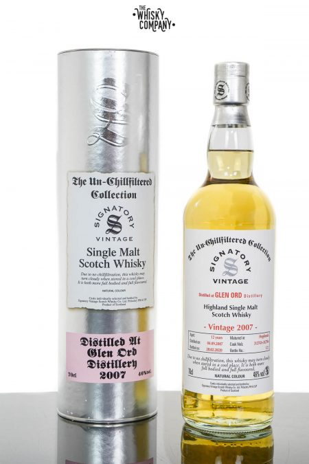 Glen Ord 2007 Aged 12 Years Highland Single Malt Scotch Whisky - Signatory Vintage (700ml)