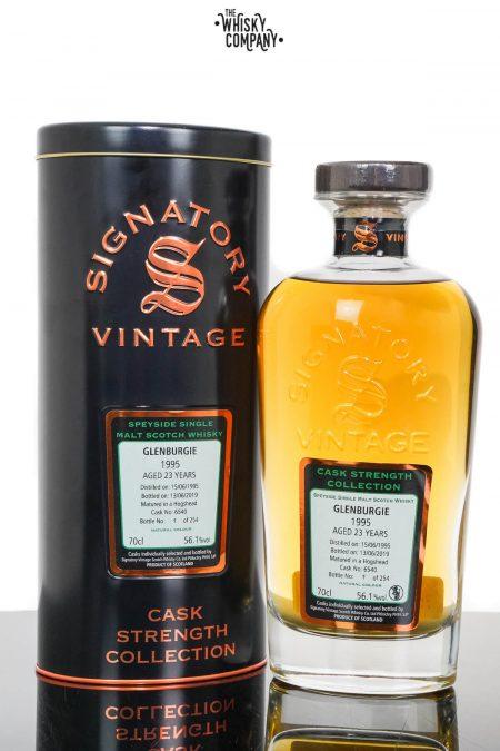 Glenburgie 1995 Aged 23 Years Cask Strength Single Malt Scotch Whisky - Signatory Vintage (700ml)