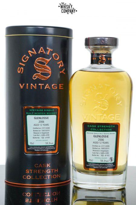 Glenlossie 2006 Aged 12 Years Cask Strength Single Malt Scotch Whisky - Signatory Vintage (700ml)