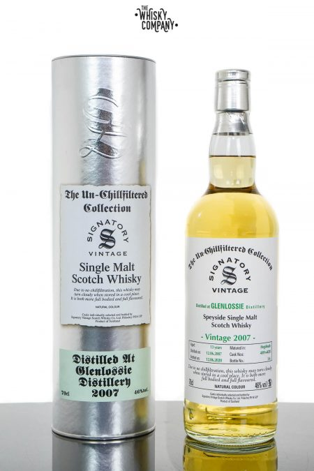 Glenlossie 2007 Aged 13 Years Single Malt Scotch Whisky - Signatory Vintage (700ml)