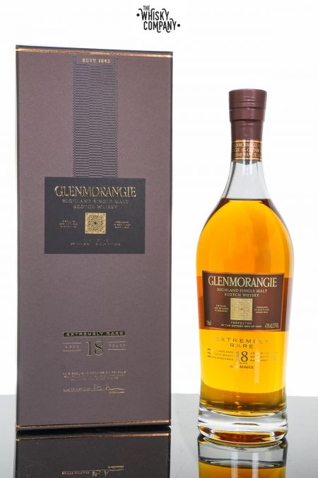 Glenmorangie 18 Year Old Extremely Rare Highland Single Malt Scotch Whisky (700ml)