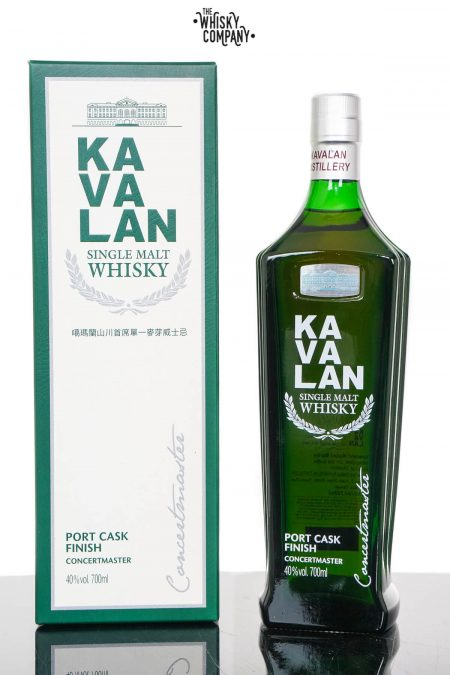 Kavalan Concertmaster Port Cask Finish Single Malt Whisky (700ml)