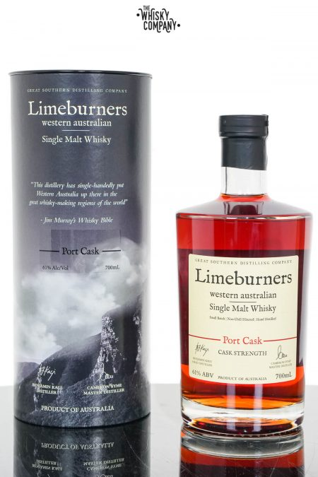 Limeburners Port Cask Strength Australian Single Malt Whisky (700ml)