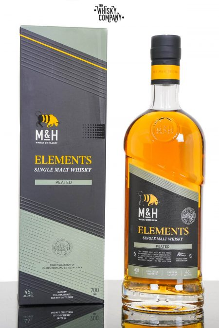 Milk & Honey Elements Peated Israeli Single Malt Whisky (700ml)