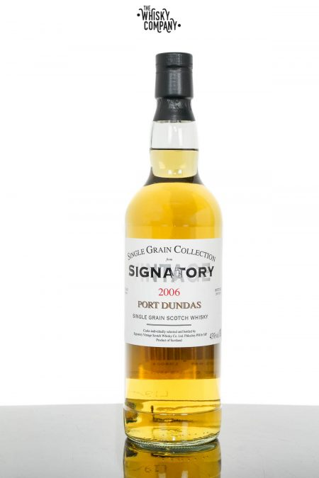 Port Dundas 2006 Aged 12 Years Single Grain Scotch Whisky - Signatory Vintage (700ml)