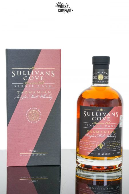 Sullivans Cove American Oak Refill Single Cask Tasmanian Single Malt Whisky - Barrel TD0085 (700ml)