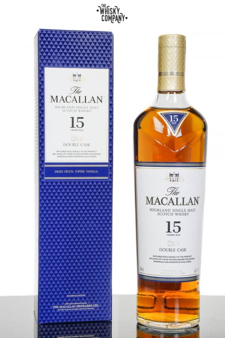 Macallan 15 Years Old Double Cask Single Malt Scotch Whisky (700ml)