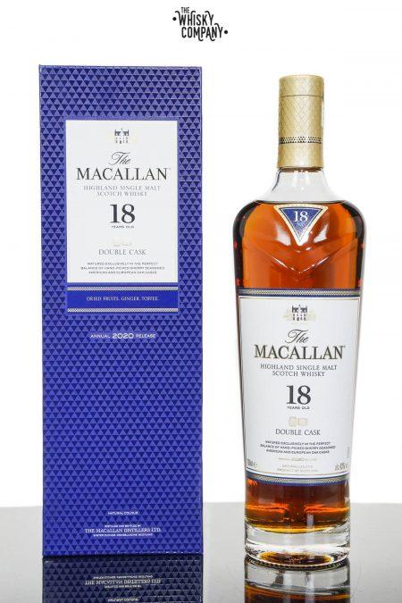 Macallan 18 Years Old Double Cask Single Malt Scotch Whisky (700ml)