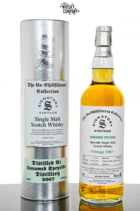 Unnamed Speyside 2007 Aged 13 Years Single Malt Scotch Whisky - Signatory Vintage (700ml)
