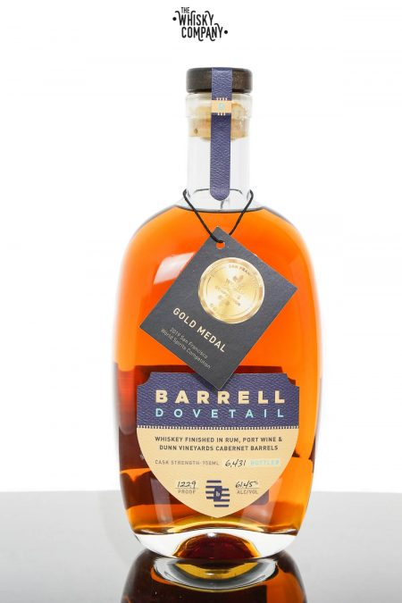 Barrel Craft Spirits Dovetail Cask Strength Whiskey (750ml)