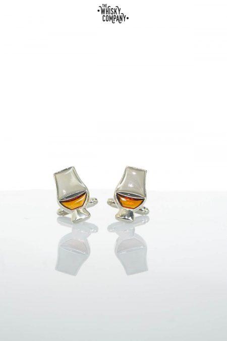 Glencairn Crystal 'Whisky Tasting' Glass Official Cufflinks
