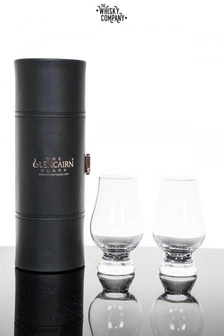 Glencairn Crystal 'Whisky Tasting' Two Glasses In Travel Case