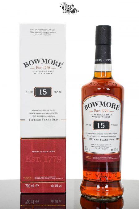 Bowmore Aged 15 Years Islay Single Malt Scotch Whisky (700ml)