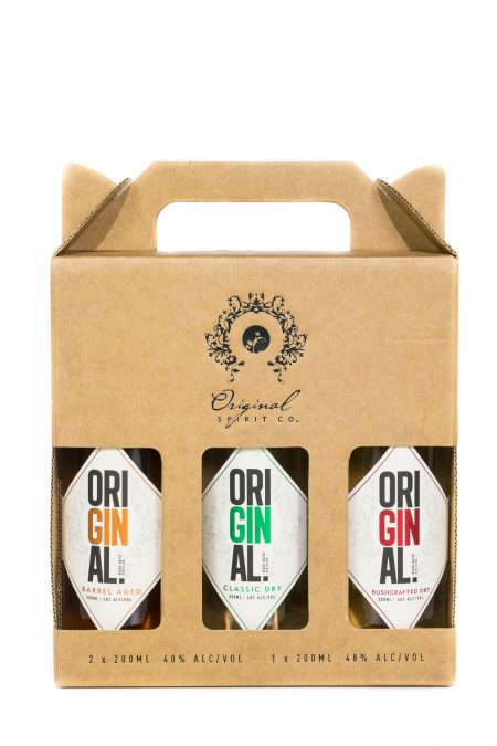Original Gin Trio Gift Pack (3 x 200ml)