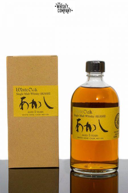 Akashi White Oak Aged 5 Years Single Cask #61191 Japanese Single Malt Whisky (700ml)