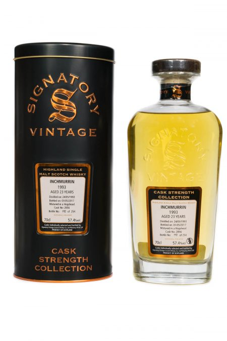 Inchmurrin 1993 Aged 23 Years (cask 2856) Single Malt Scotch Whisky - Signatory Vintage (700ml)