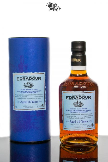 Edradour Aged 16 Years Barolo Cask Finish Single Malt Scotch Whisky (700ml)