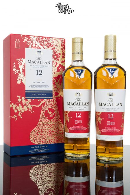 The Macallan Double Cask 12 Years Old Year Of The Pig Single Malt Scotch Whisky (2 x700ml)