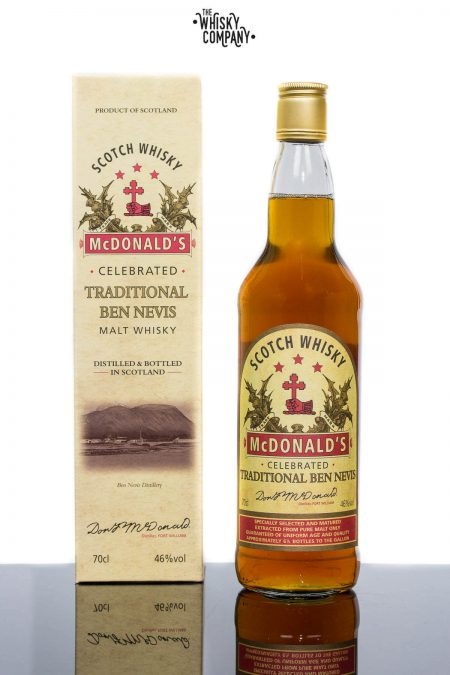 Ben Nevis McDonald's Traditional Highland Single Malt Scotch Whisky (700ml)